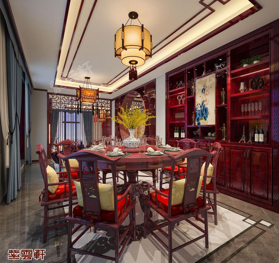 小别墅中式装修设计这是属于中国人别墅的低调千灵山图片