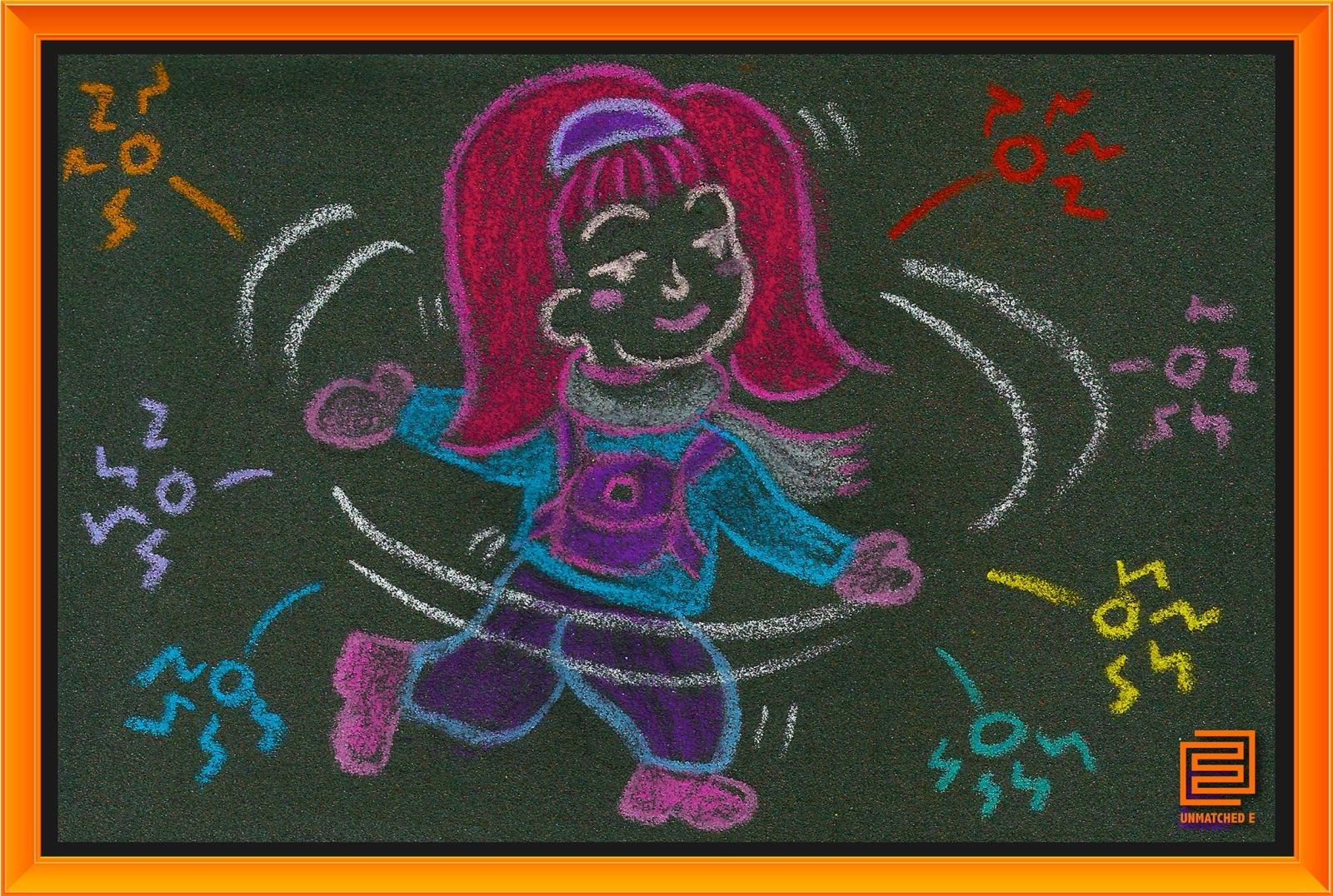 [e漫绘]我这样在砂纸上创作科幻小漫画 - 砂纸画教程