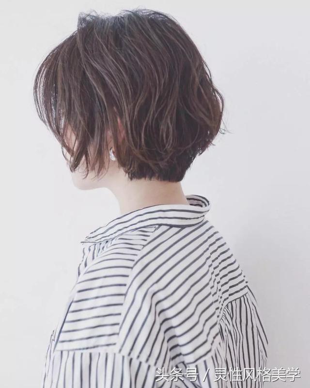 2018减龄发型短发,想剪短的可以试试!