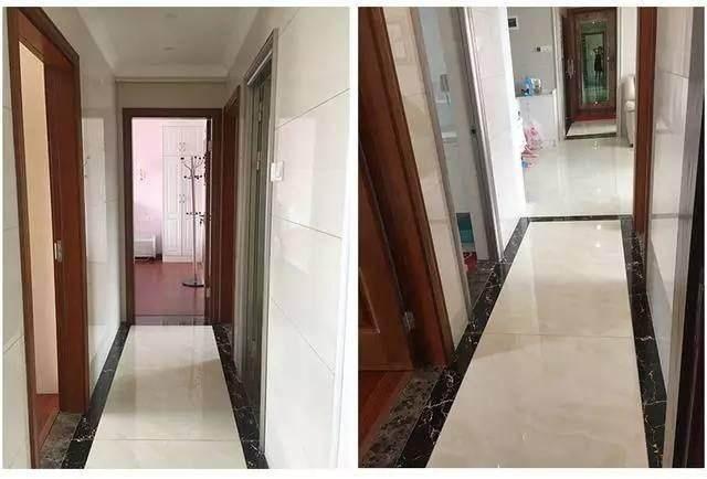 走廊铺砖效果图