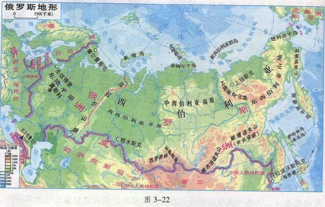 西西伯利亚位于俄罗斯境内,它东界叶尼塞河,南接哈萨克丘陵,萨彦岭图片