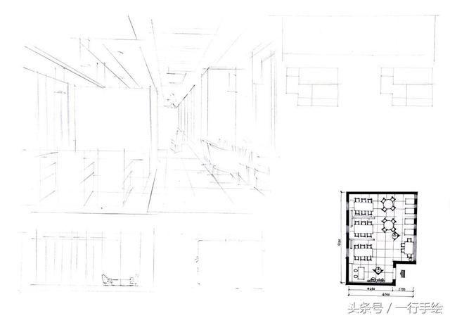 空间餐饮快题(第一套)容易漏掉一個步驟翻譯图片