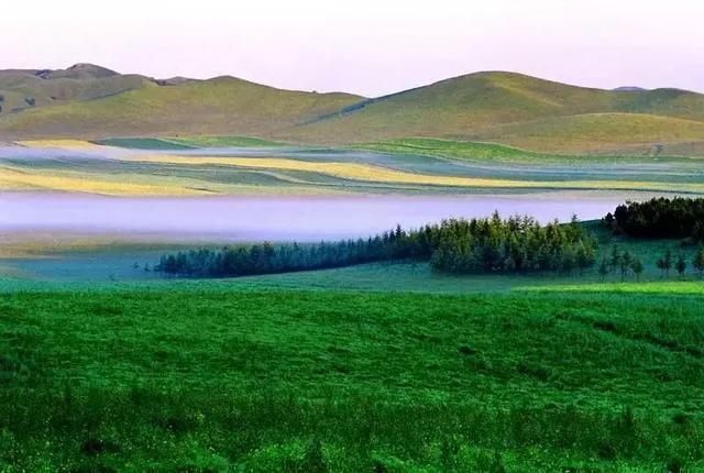 草原森林风景区 第三段:从承德出发,沿张承高速向东北方向到大滩,一路