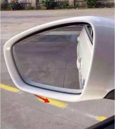 科目二考试倒车入库后视镜图解有吗?只看左视镜的.