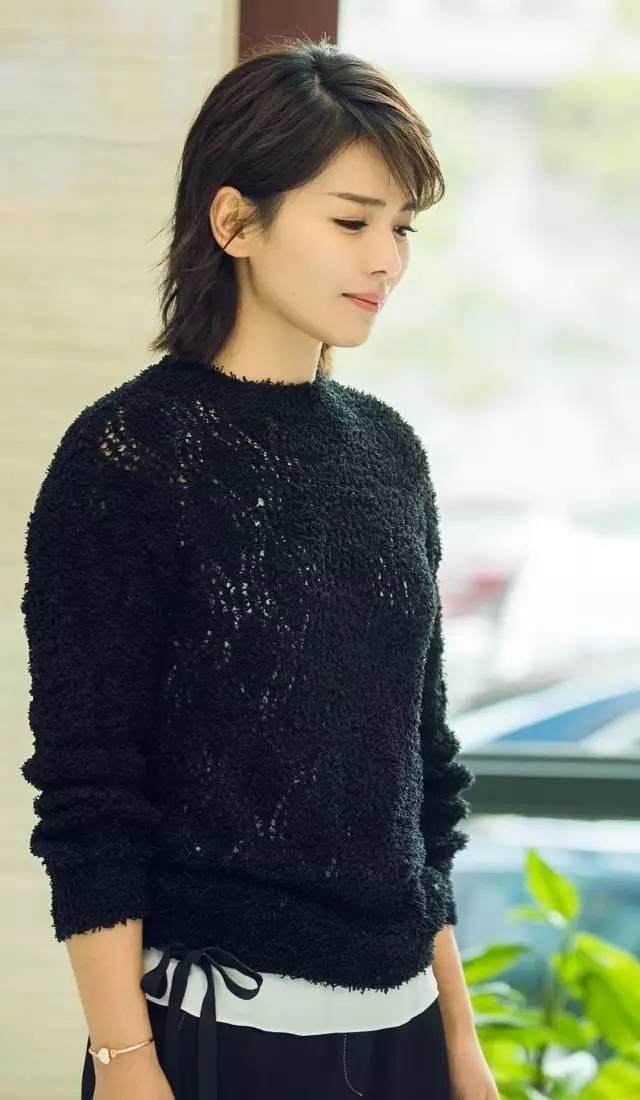 自从演了安迪以后,刘涛的短发形象就深入人心了.