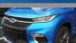大量奇瑞EXEEDTX已上路,蓝色车身帅的一塌糊涂
