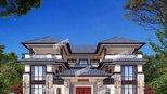 村里最有钱的富豪,花了120万建新中式别墅,太漂亮了
