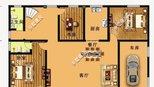 六间卧室带车库的两层农村自建别墅,设计旋转楼梯还配置了花园!