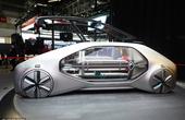 雷诺EZ-GO无人驾驶概念车 采用全透明设计