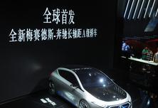 全球首发 梅赛德斯-奔驰全新长轴距A级轿车亮相
