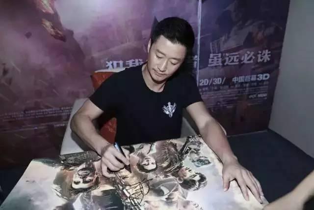 吴京:花2亿拍《战狼2》就算没赚着钱,但我过瘾!