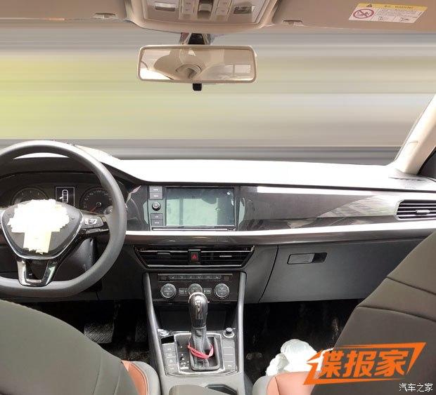 北京车展亮相 全新朗逸内饰谍照首曝