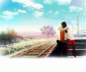 (一个人的旅行只有孤独陪伴)!