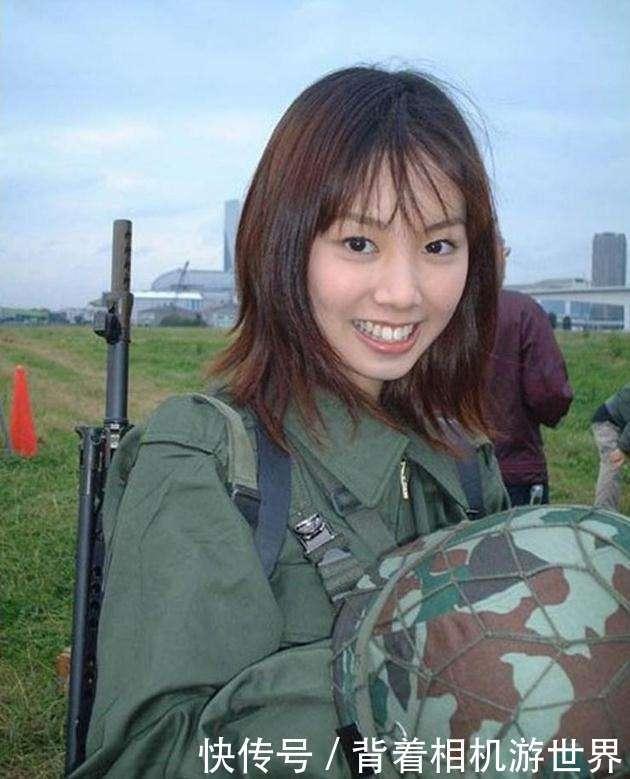 看看韩国女兵,再看看日本女兵,你才知道差距有