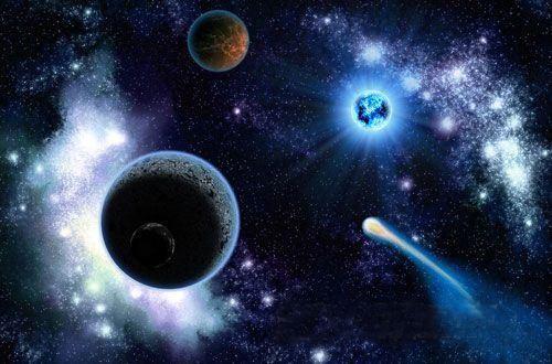 每个人都来自于宇宙,无数恒星才成就了你,我们