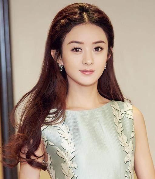 女星扎公主头:赵丽颖清纯,张雨绮妩媚,范冰冰气