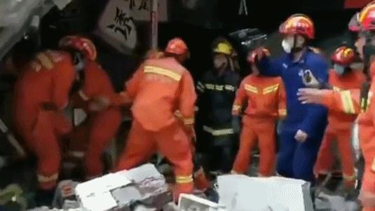 南京一建筑发生墙体坍塌 致1人遇难4人受伤