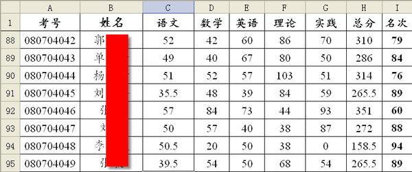 如何在WPS表格中求特定比例成绩的平均分?