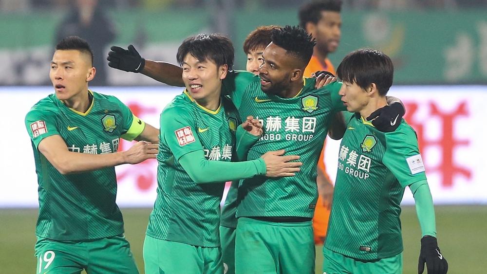 中赫国安冲击足协杯冠军 首回合战平鲁能