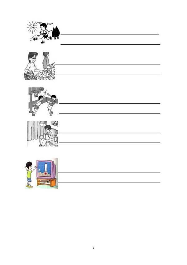 看图写话,小学一年级必备真题,想象力训练和作