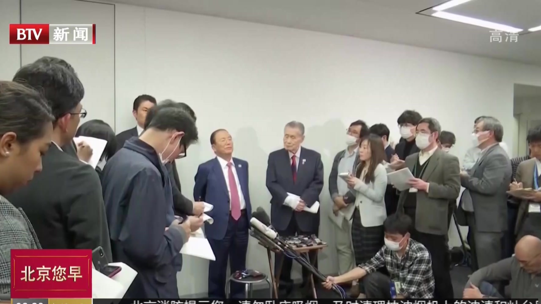 东京奥组委称不会延期举办奥运会