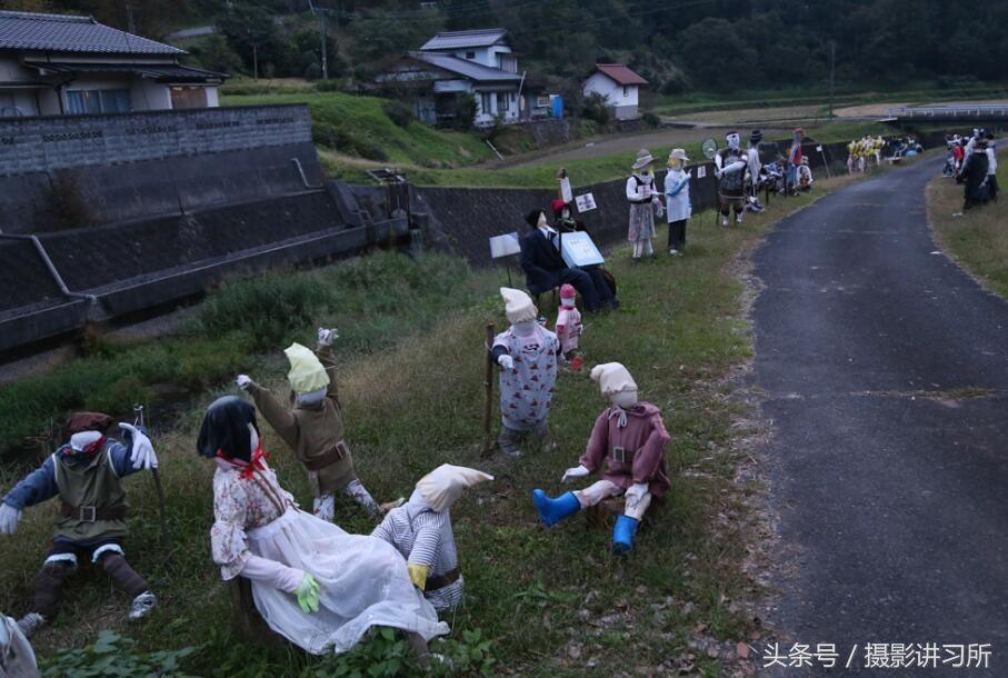 日本稻草人村-如同闹鬼般的恐怖 老龄化问题的