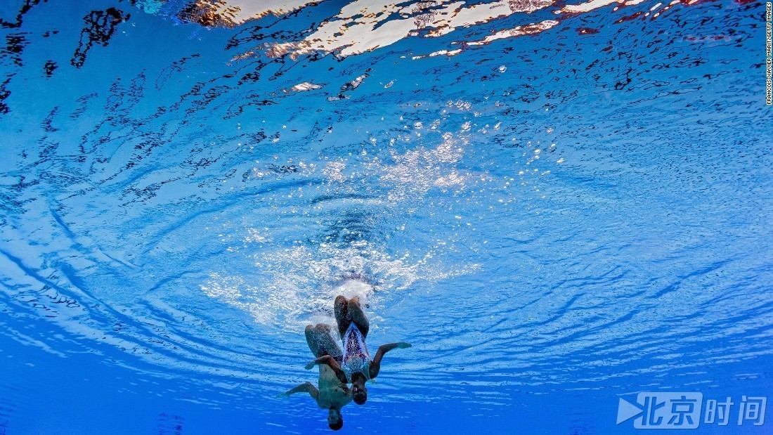 水下美图看布达佩斯游泳世锦赛:力量与柔美并济 - 周公乐 - xinhua8848 的博客