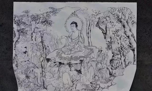 为了雕刻翡翠精品《佛陀圣迹》,却放弃切稳赚百万的春带彩手镯!