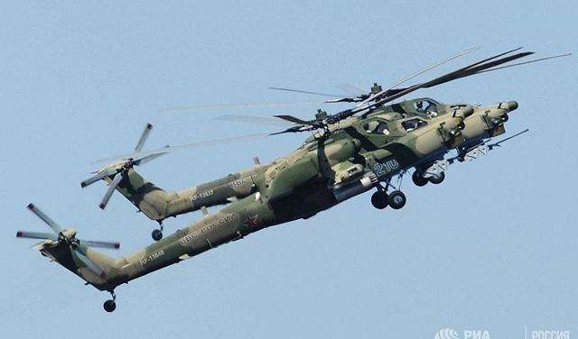 俄罗斯这款直升机比美国的更强,可同时击毁16辆主战坦克