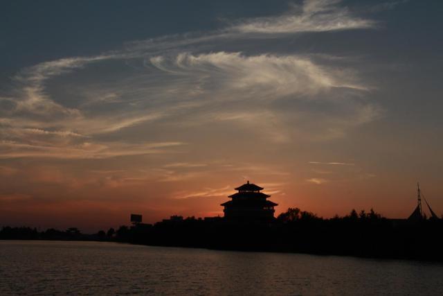 入伏了!河南淮滨城区景色更怡人(图文)