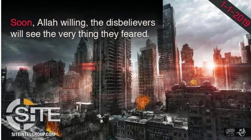 IS扬言2019元旦炸纽约:用消音器和狙击手收割他们