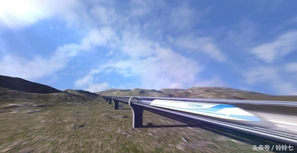 中国飞行列车时速4000公里!贴地飞行,全面超越美国超级高铁!