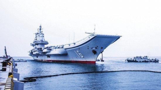 中美海军怼上了?辽宁舰过台湾海峡被美舰跟踪 - 钟儿丫 - 响铃垭人