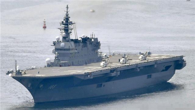 日媒:特朗普11月访日期间或将视察出云号护卫舰(图)