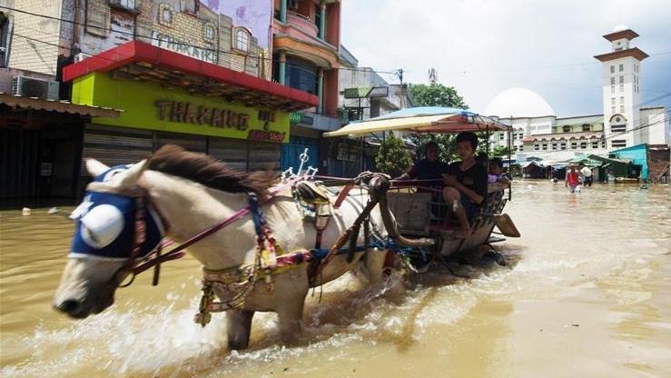 印度尼西亚:洪水来袭