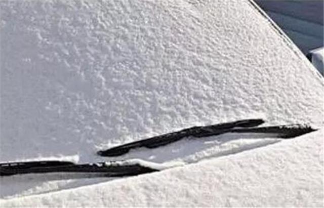 当爱车结冰时,如果能这样处理的都是老司机!