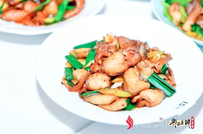 2021世界川菜烹饪技能大赛回锅肉获金奖