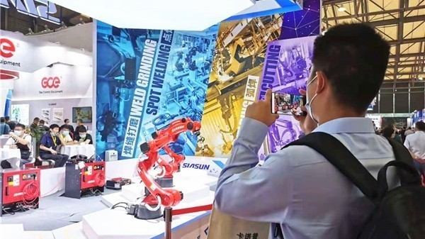 新松亮相第25届埃森焊接与切割展览会